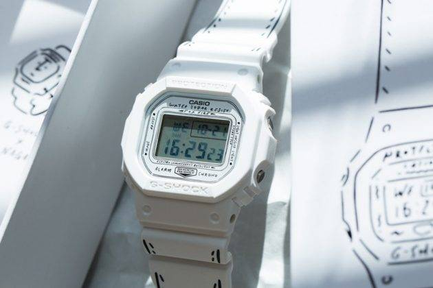 Модель часов Casio G-SHOCK x Yu Nagaba - Stone Forest