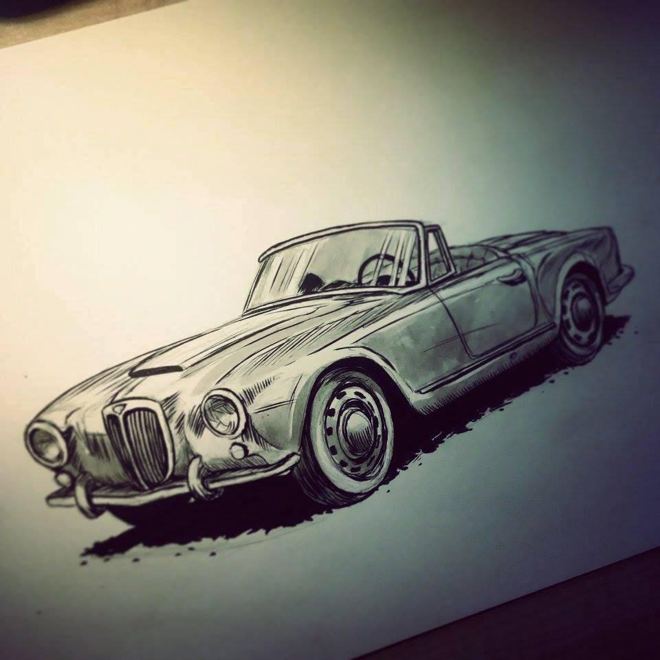 Авто Lancia Aurelia - Stone Forest