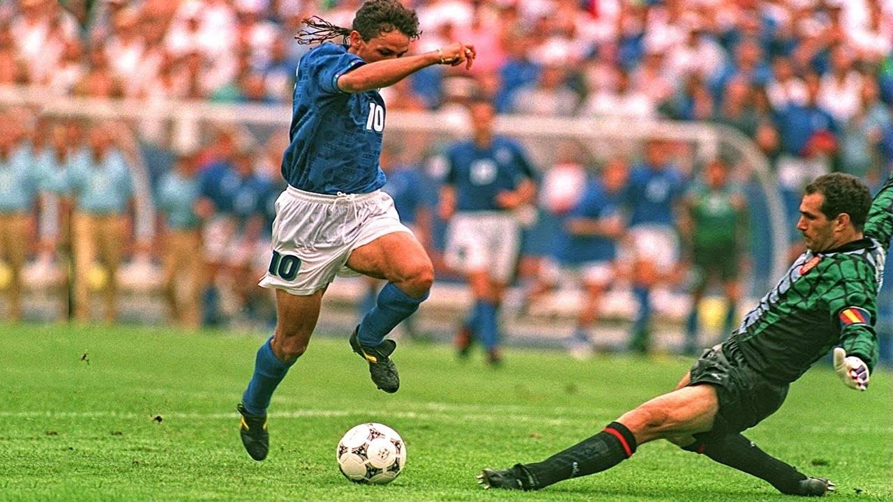 Футболист Роберто Баджо - Stone Forest