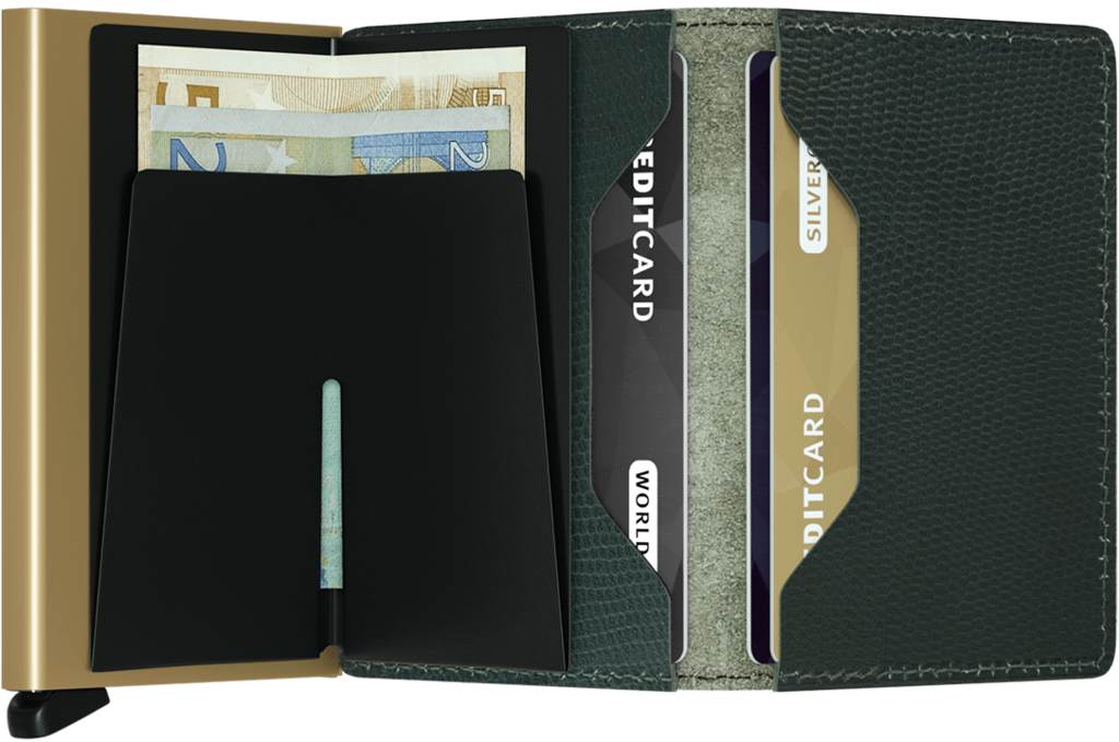 Secrid Wallet Leather - Stone Forest