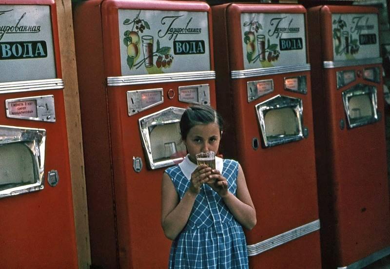 Советский автомат для газировки - Stone Forest