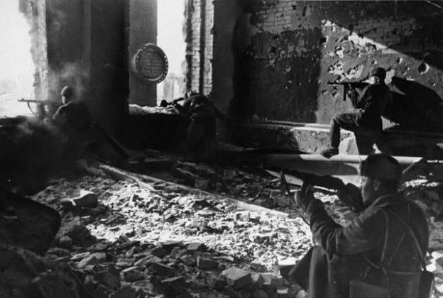 Сталинградская битва на фото - Stone Forest
