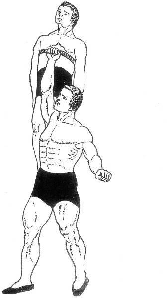 Как поднять человека одной рукой - Stone Forest
