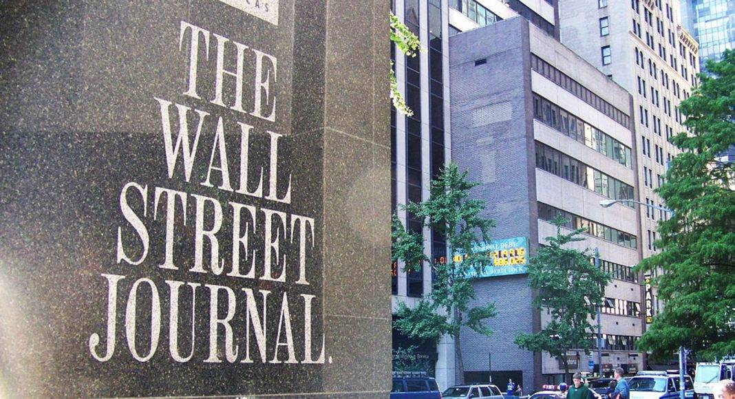 Газета The Wall Street Journal - Stone Forest