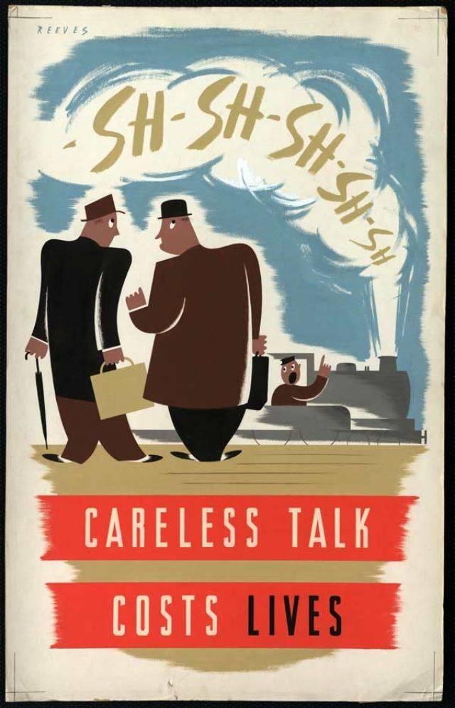 Плакаты Второй мировой войны в Великобритании - Stone Forest