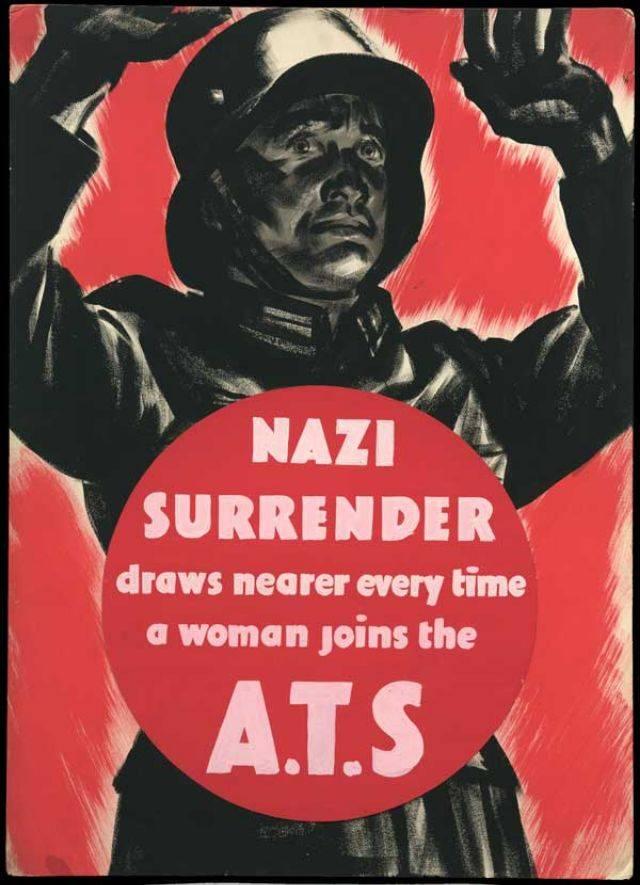 Английские плакаты Второй мировой войны - Stone Forest