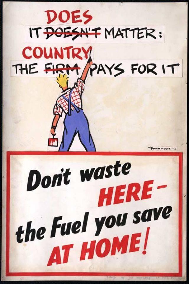 Британские плакаты Второй мировой войны - Stone Forest