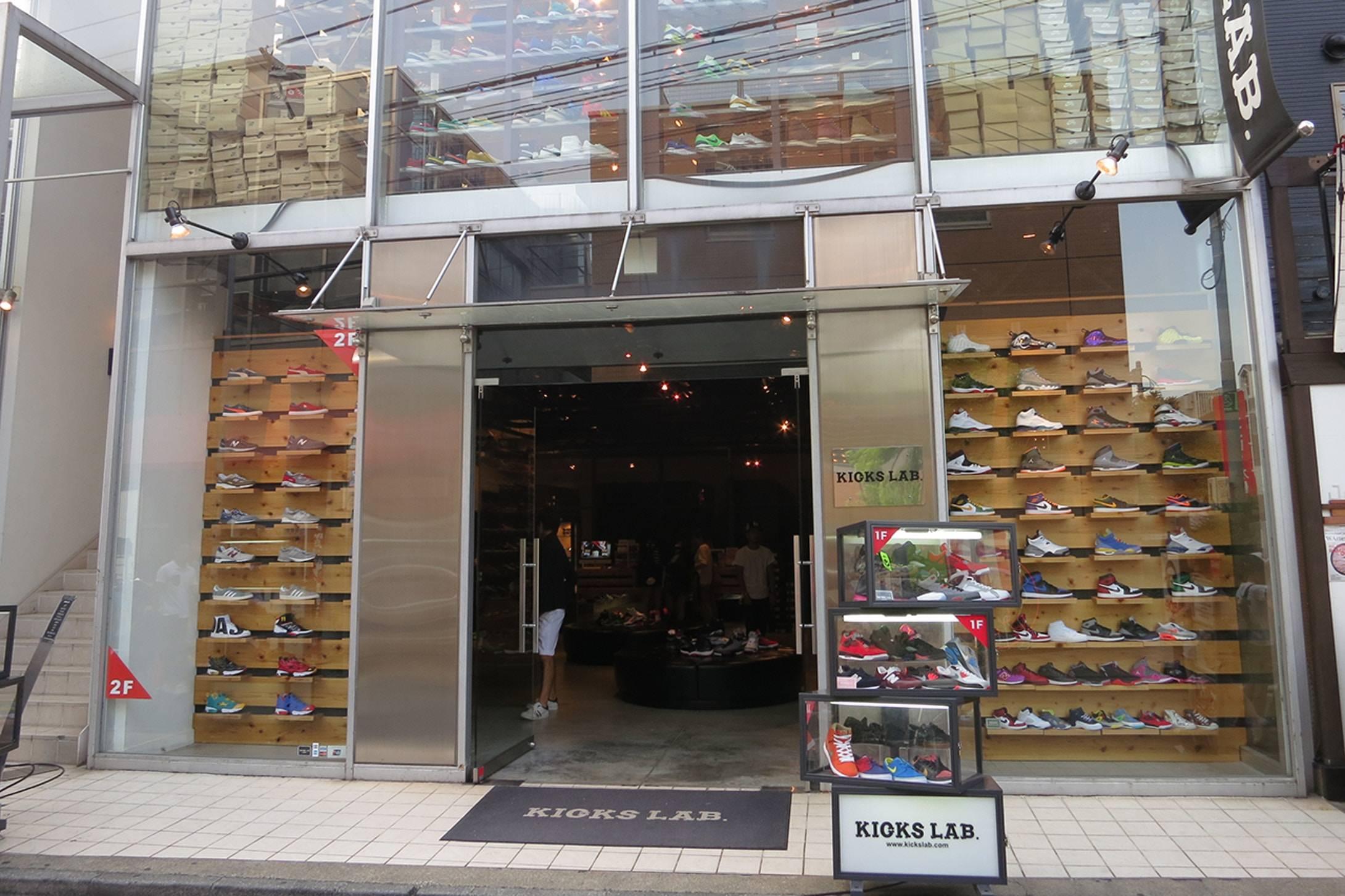 Магазин KICKS LAB — одно из главных мест в Токио для сникерхедов