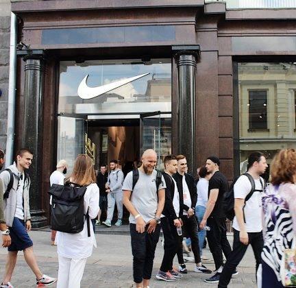Флагманский магазин Nike Кузнецкий мост - Stone Forest