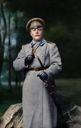 Фотографии русских офицеров на Первой мировой войне - Stone Forest