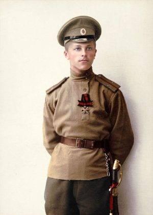Молодой лейтенант русской армии в Первой мировой войне - Stone Forest