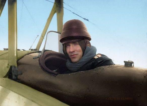 Летчик Добровольский на Первой мировой войне - Stone Forest