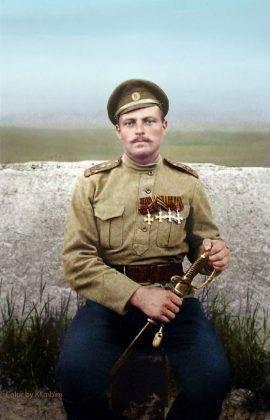 Фотографии русских молодых офицеров на Первой мировой войне - Stone Forest