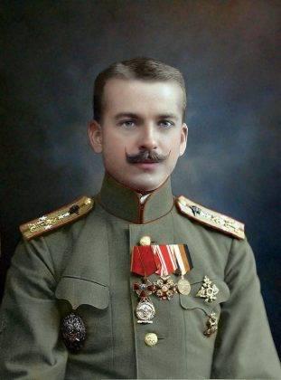 Летчик штабс-капитан Петр Нестеров - Stone Forest