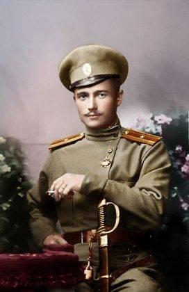 Прапорщик русской армии на Первой мировой войне - Stone Forest