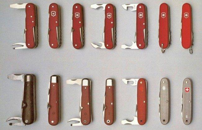 Ножи Victorinox - Stone Forest