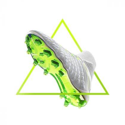 Белые бутсы Nike Hypervenom - Stone Forest