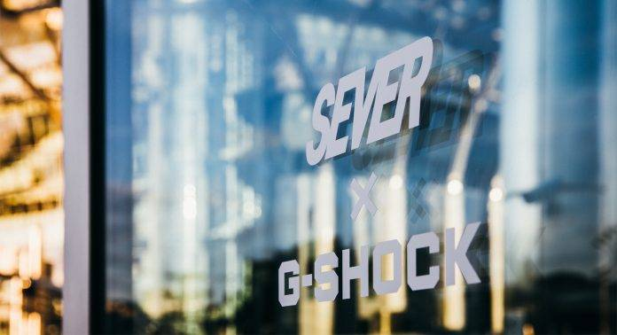 G-SHOCK X SEVER - Stone Forest