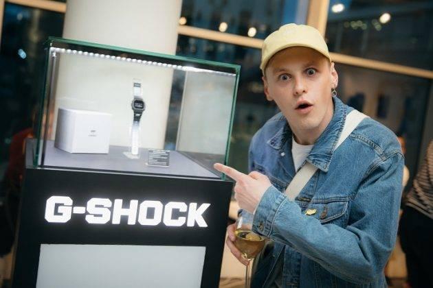 Коллаборация G-SHOCK X SEVER - Stone Forest