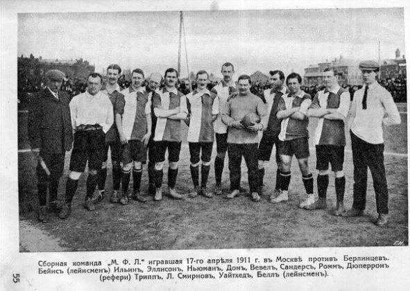 Отец российского футбола Георгий Дюперрон - Stone Forest