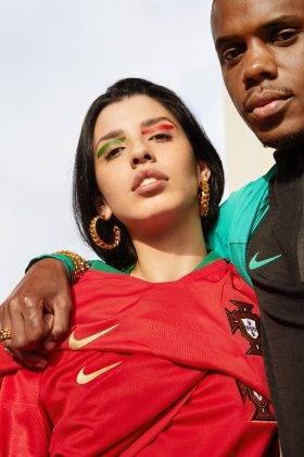 Одежда сборной Португалии 2018 - Stone Forest