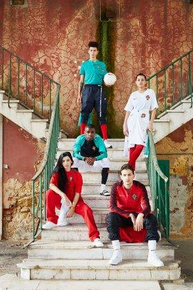 Одежда Nike сборная Португалии 2018 - Stone Forest