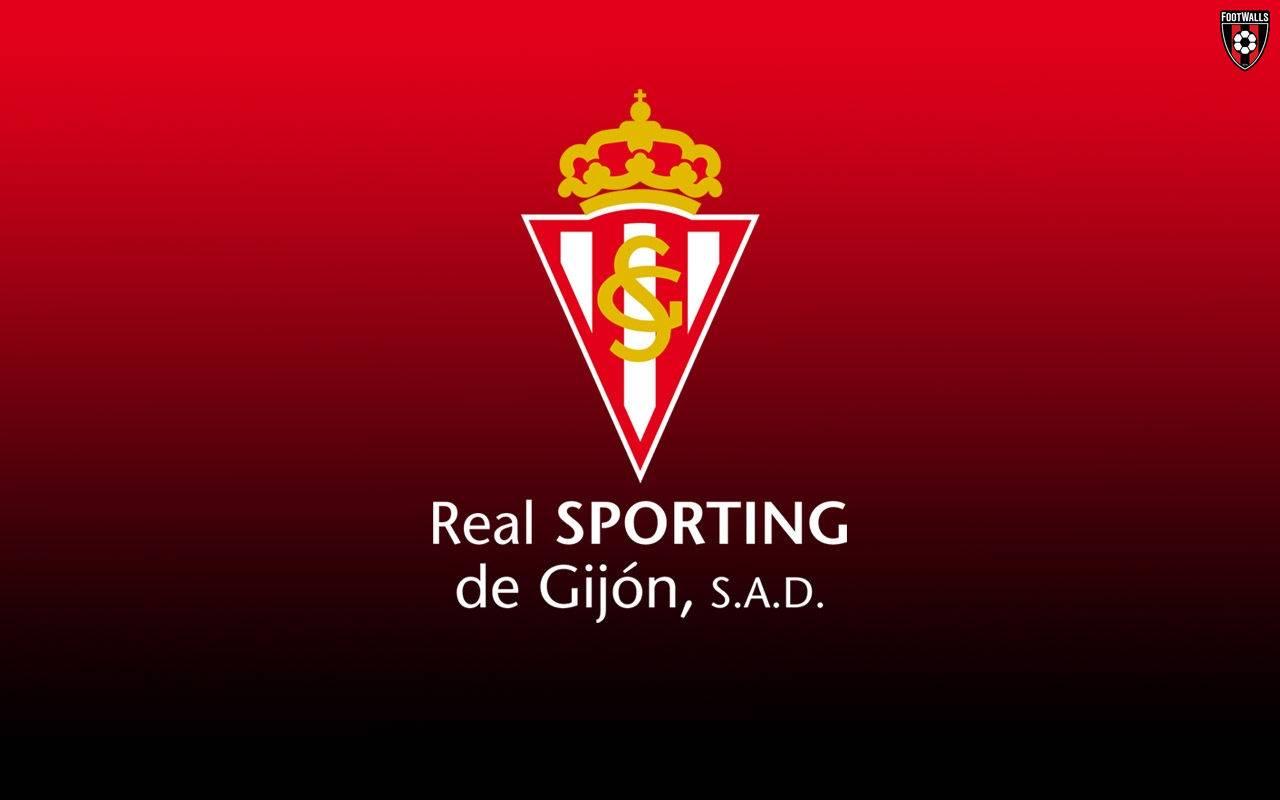 Лого ФК Спортинг Хихон - Stone Forest