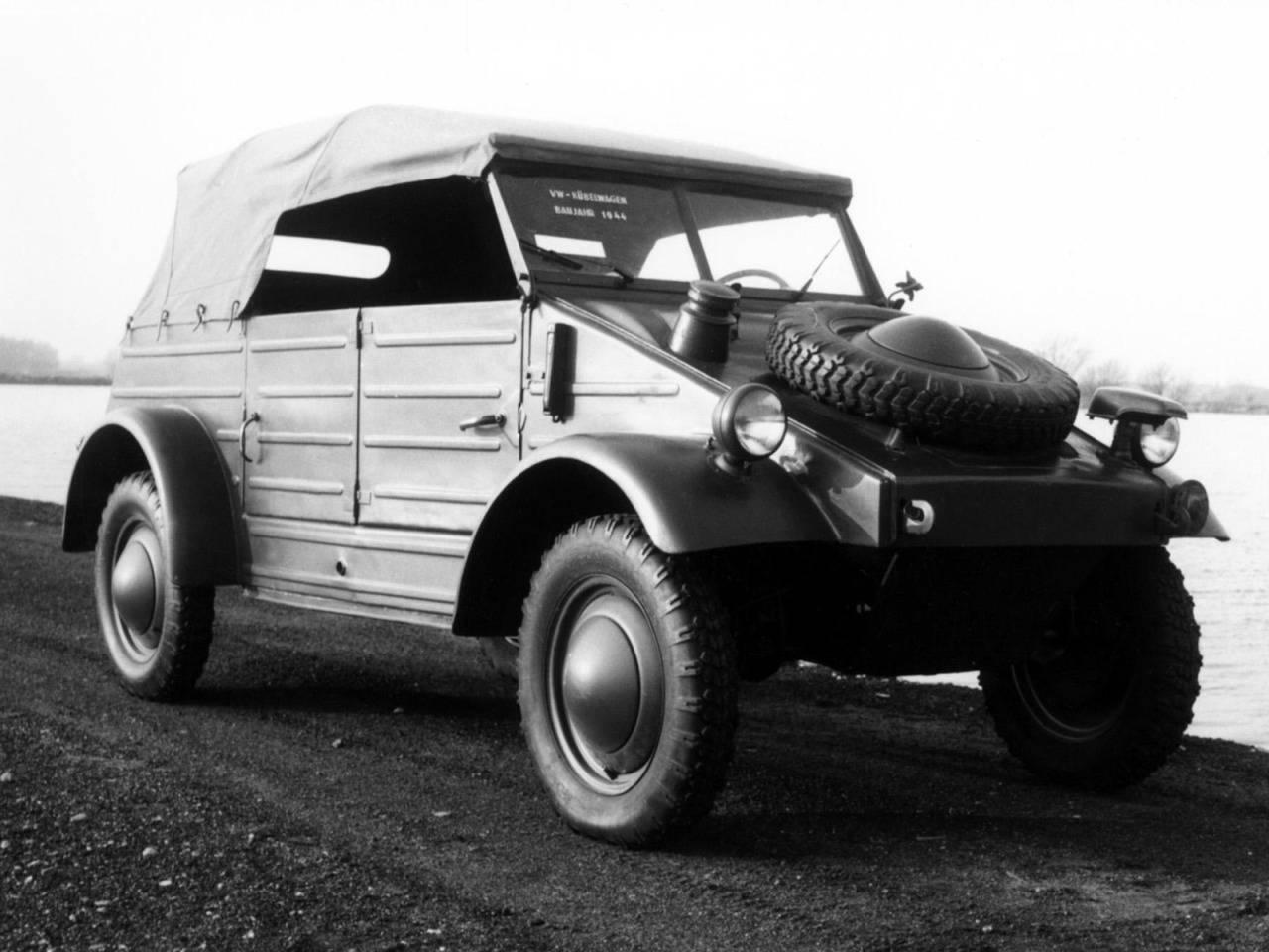 Модель автомобиля Volkswagen Typ 82 - Stone Forest