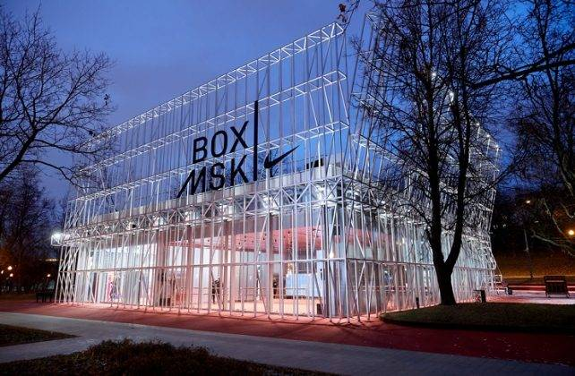 Nike Box Msk зимой - Stone Forest