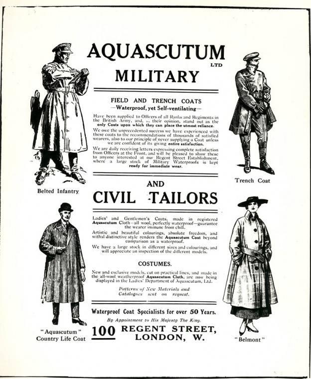 Пальто Aquascutum - Stone Forest