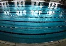 тренировка по плаванию