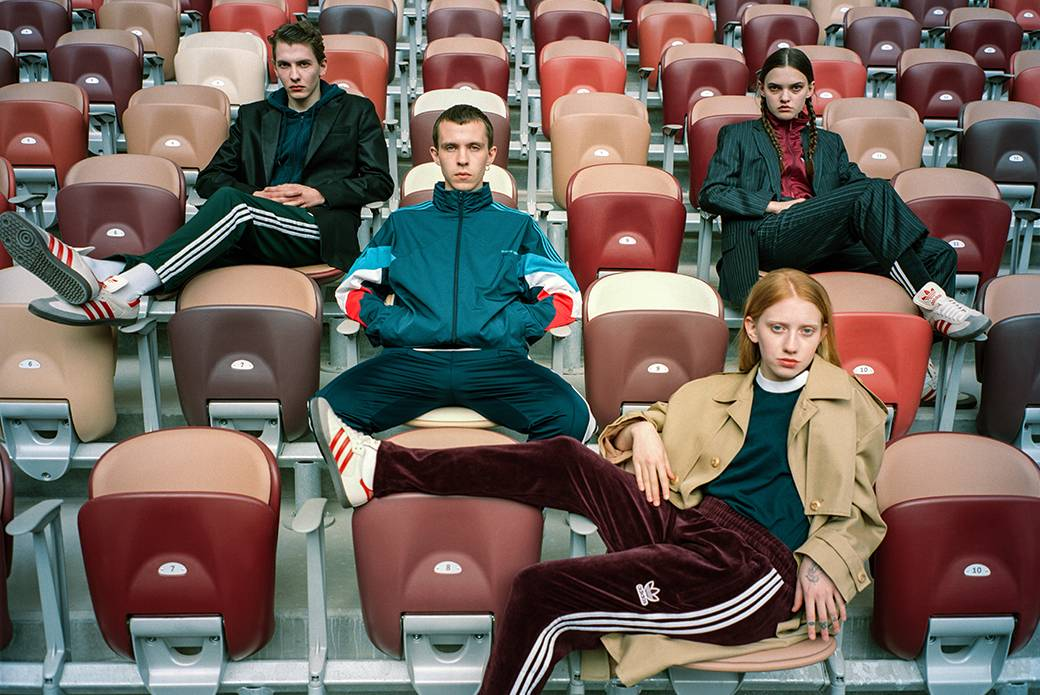 Кроссовки adidas Originals Samba ЛУЖНИКИ — современная история футбола