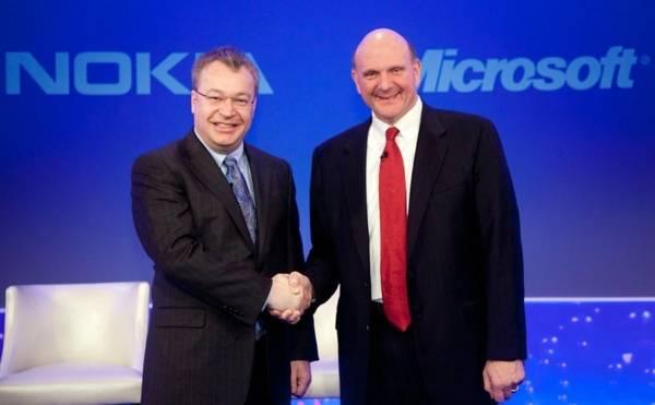 Nokia и Microsoft - Stone Forest