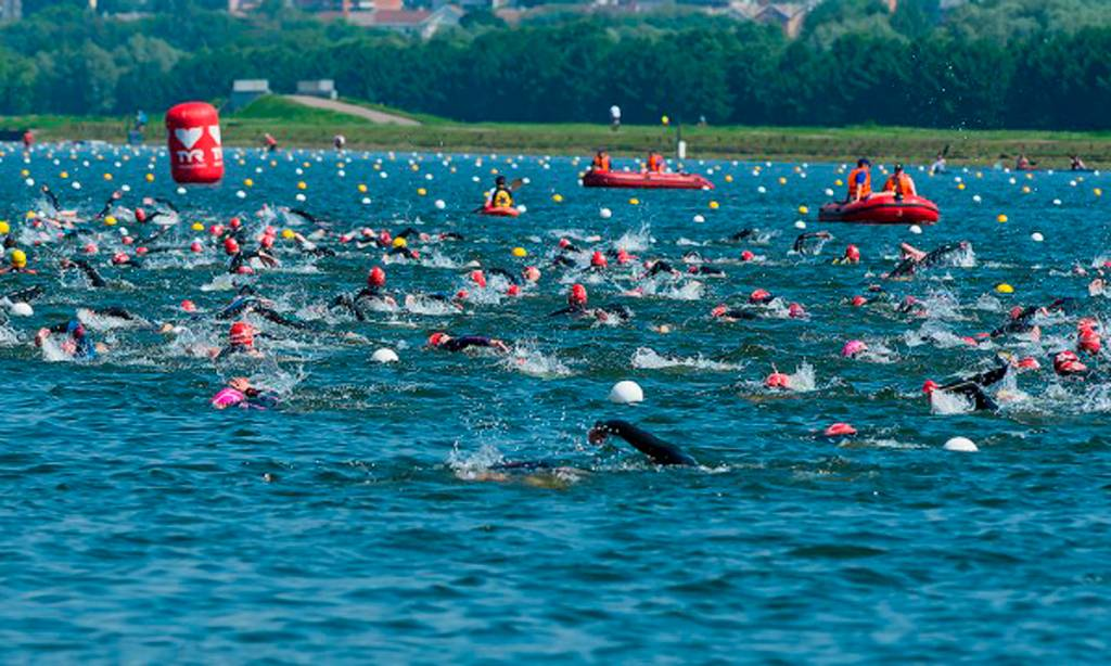 Сезон соревнований на открытой воде