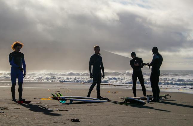 Серфинг на Камчатке и Сибири- Stone Forest