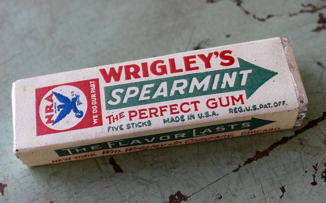 Бренд Wrigley's Spearmint - Stone Forest