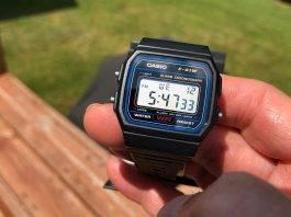 Часы Casio F-91W - Stone Forest