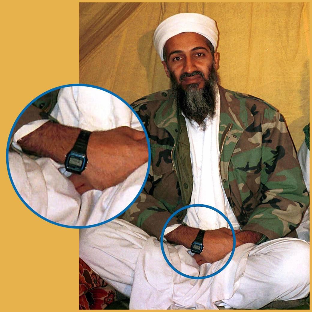 Часы Бен Ладена Casio F-91W - Stone Forest