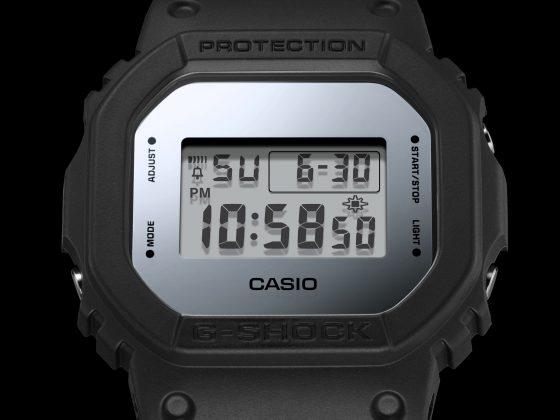 G-Shock DW-5600BBMA-1, DW-5600BBMB-1, DW-5600MW-7-JF - Stone Forest