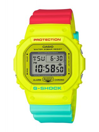 Casio Breezy Rasta Color - Stone Forest