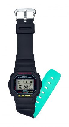 Casio G-Shock Breezy Rasta Color - Stone Forest