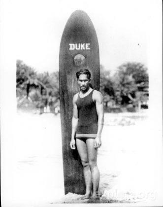 Дьюк Каханамоку серфингист - Stone Forest