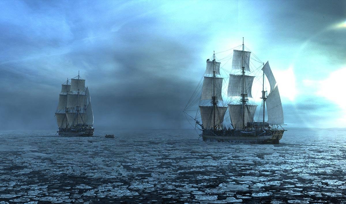 Корабли Террор и Эребус - Stone Forest