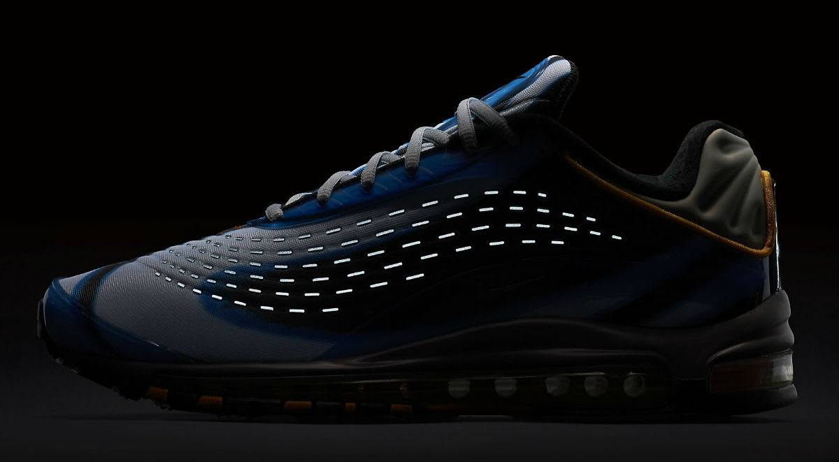Модель кроссовок Nike Air Max Deluxe - Stone Forest