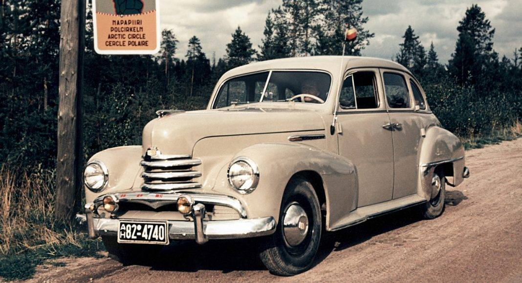 Opel Kapitan - Stone Forest