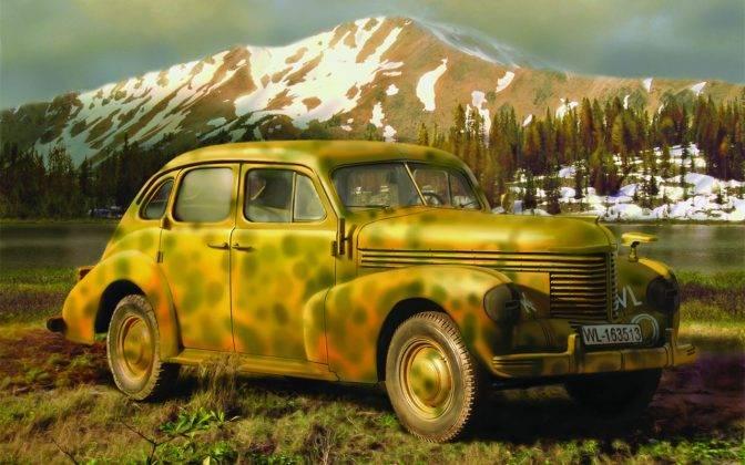Авто Опель Капитан - Stone Forest