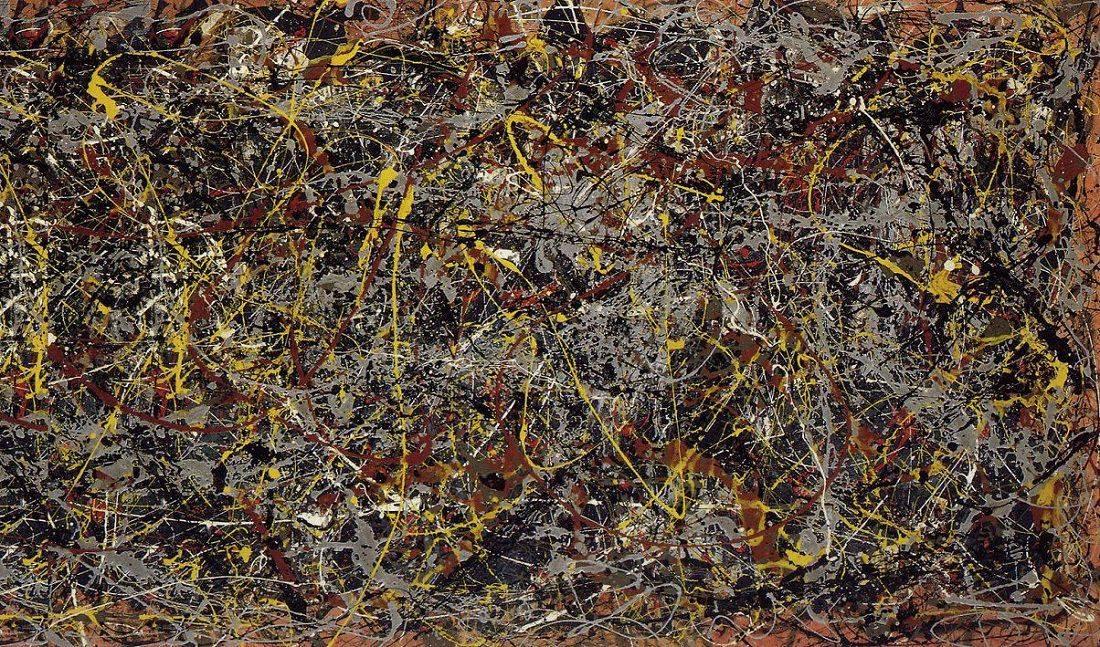№ 5, 1948 Джексона Поллока - Stone Forest