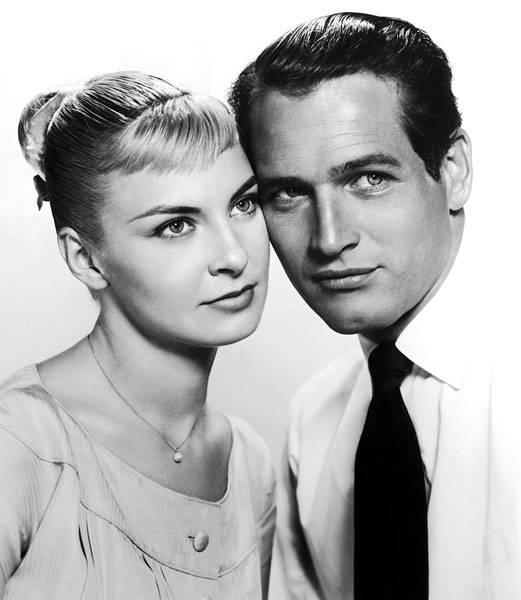 Пол Ньюман с женой - Stone Forest
