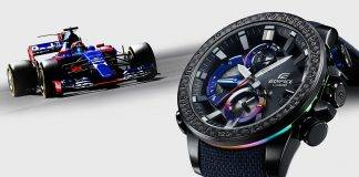Casio EDIFICE Scuderia Toro Rosso Limited Edition - Stone Forest