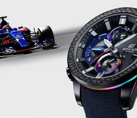 Casio EDIFICE Scuderia Toro Rosso Limited Edition - Stone Forest